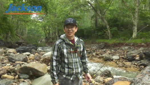 ジャクソン コマチで渓流釣り!!